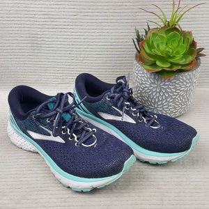 Brooks Ghost 11 Blue Running Shoes